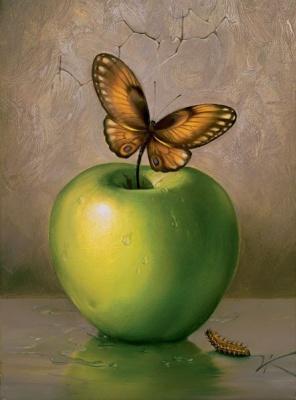 Vladimir Kush. Green Apple