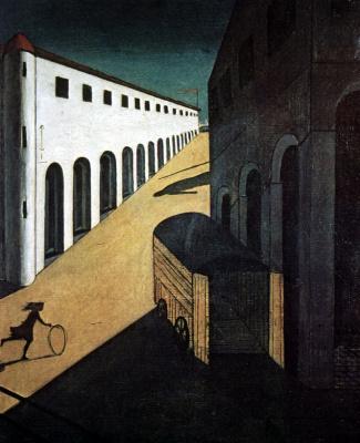 Джорджо де Кирико. Меланхолия и тайна улицы