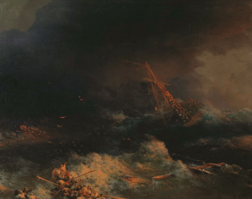 """Крушение корабля """"Ингерманланд"""" в Скагерраке в ночь на 30 августа 1842 года"""
