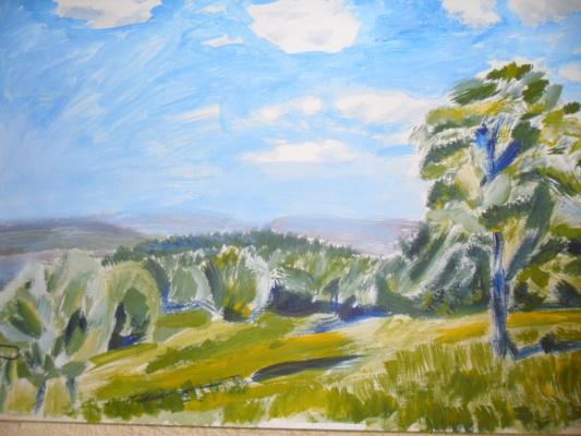 Gulnara Matyukhina. Landscape
