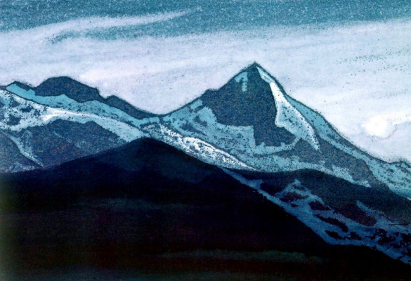 Nicholas Roerich. Night (night is Coming)