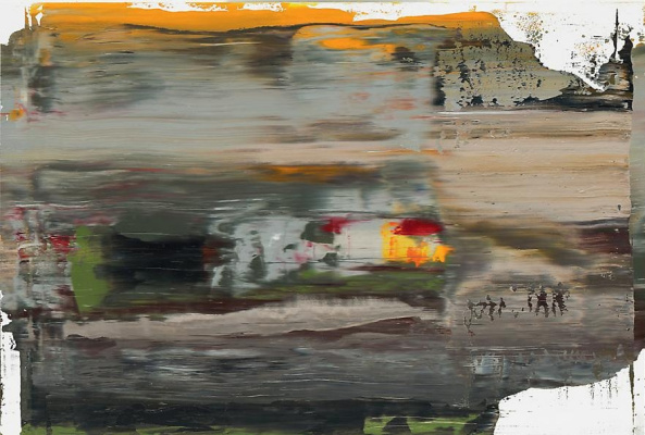 Gerhard Richter. Abstract painting