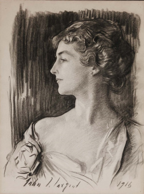 John Singer Sargent. Portrait of Eleonora Sears, Mrs. Richard D. Sears