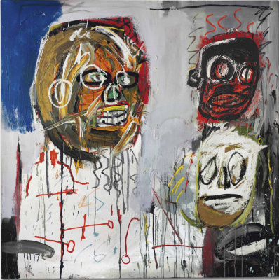 Jean-Michel Basquiat. Three delegates