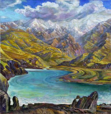 Rinat Salimzyanovich Khanafeev. Naryn River