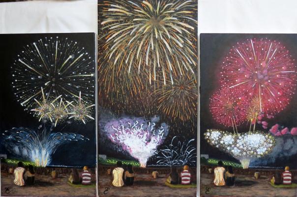 Dmitry Eremenko. Firework festival of Alicante