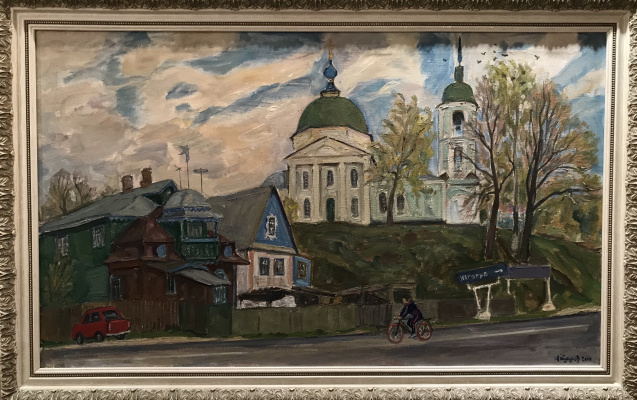 Andrey Andreevich Tutunov. House with a mezzanine in Pereyaslavl