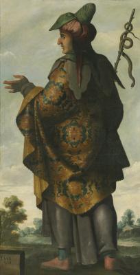 "Francisco de Zurbaran. Dan from the series ""Jacob and his twelve sons"""