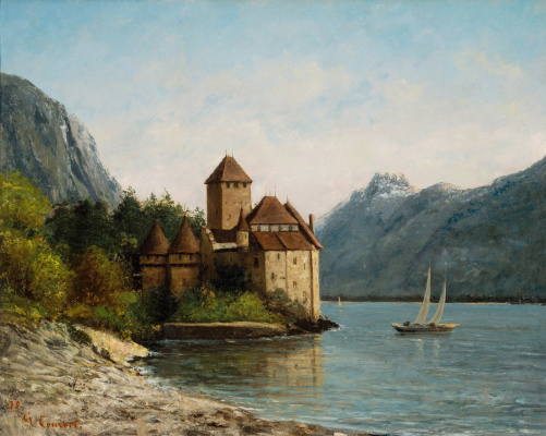 Gustave Courbet. Chillon castle