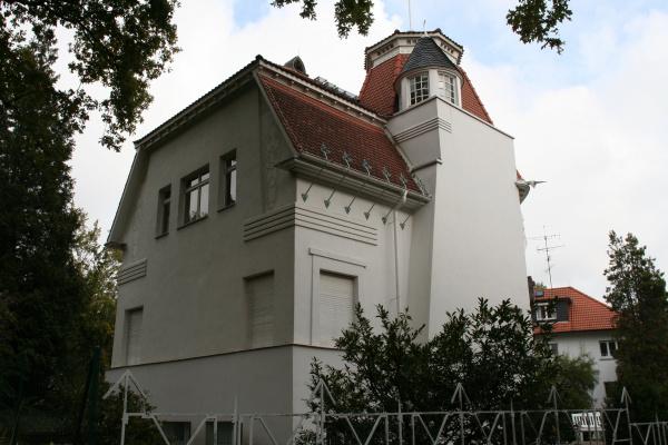 Joseph Maria Olbrich. Dayers House, Darmstadt