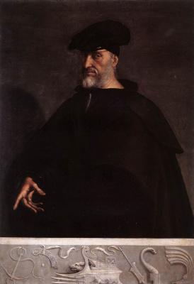Себастьяно дель Пьомбо. Портрет Андреа Дориа