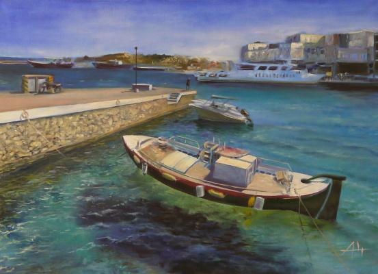 Alexey Chernov. Wharf