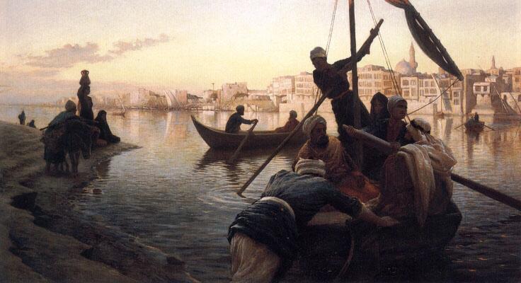 Иосиф Фарквхарсон. В Каире