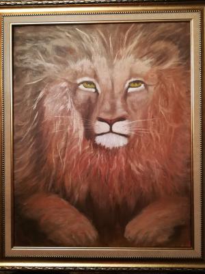 Valeria Kostromina. A lion