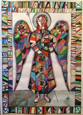 Igor Vasilyevich Kislitsyn. Double-frame angel