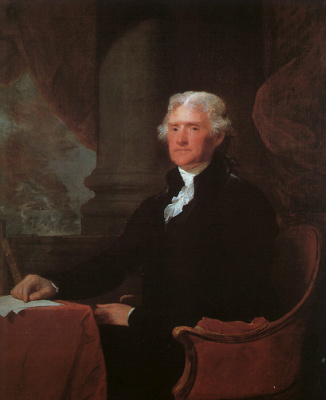 Gilbert Charles Stewart. Thomas Jefferson