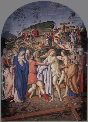 Франческо ди Джорджио Мартини. Муки Христа