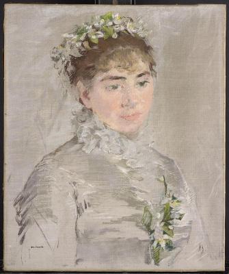 Eva Gonzalez. The bride