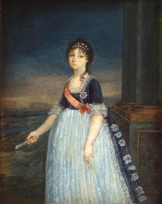 Vladimir Borovikovsky. Portrait of Grand Duchess Anna Feodorovna
