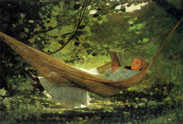 Winslow Homer. Sunlight and shadow