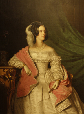 Anton Ainslie. Portrait of Empress Maria Anna