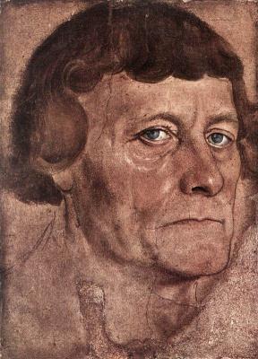 Lucas Cranach the Elder. Portrait of a man