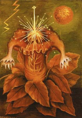 Frida Kahlo. The flower of life