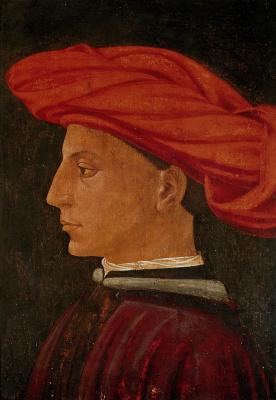 Tommaso Masaccio. Portrait of a young man