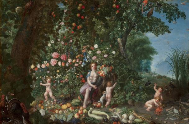 Jan Brueghel the Younger. Allegory of abundance