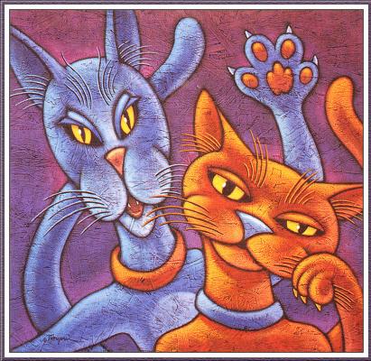 Мишель Анже. Рыжий кот