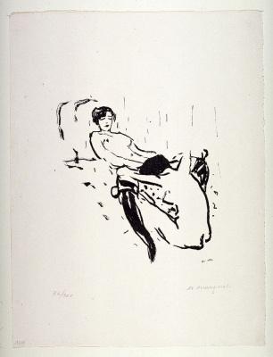 Albert Marquet. Two women