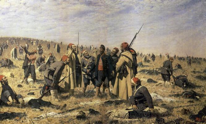 Vasily Vasilyevich Vereshchagin. The winners
