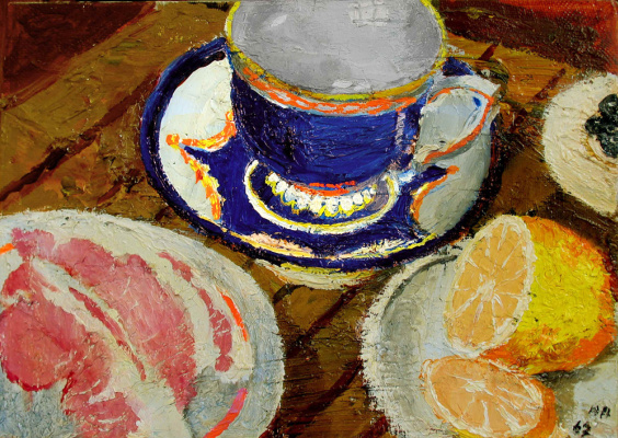 Yuri Ivanovich Pimenov. Blue Cup