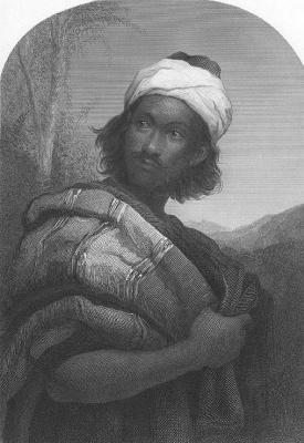 John Everett Millais. Moorish warlord