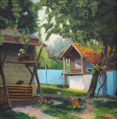 Gennady Shotovich Bartsits. Abkhazian courtyard