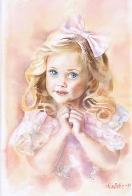"""Alisa Alexandrovna Subbotina. """"Childhood in pink"""""""