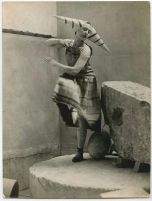 Constantine Brancusi. Costume for the play Erik Satie.