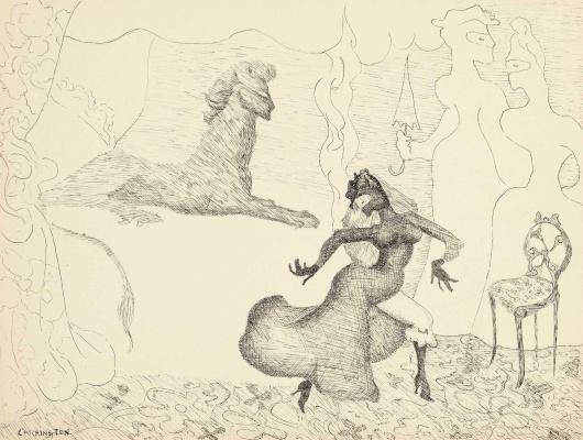 Леонора Каррингтон. Три сюжета (Две женщины и принцесса)