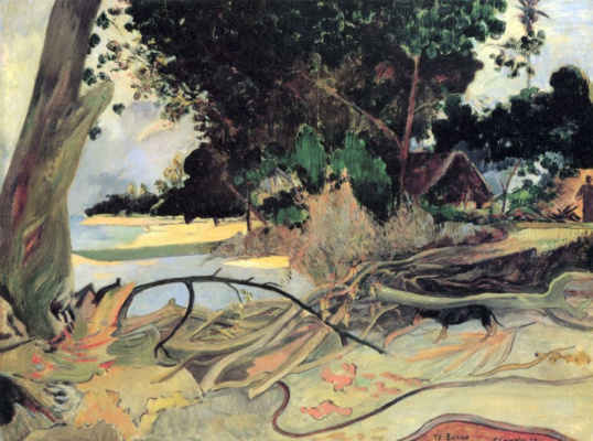 Paul Gauguin. The tree hibiscus