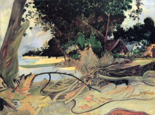 Paul Gauguin. The tree hibiscus