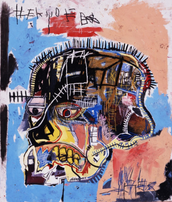 Jean-Michel Basquiat. Untitled (Skull)