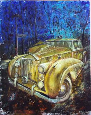 Nina Polunin. Yellow retro