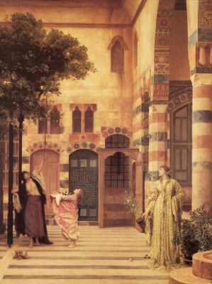 Frederic Leighton. Old Damascus: Jewish Quarter