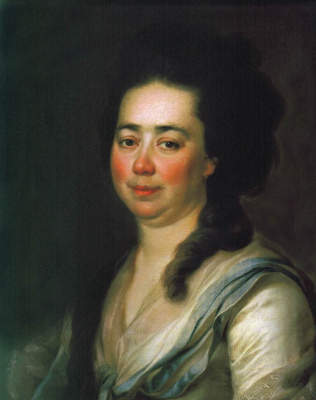 Dmitry Grigorievich Levitsky. Portrait Of Catherine Andreevny Bakunin