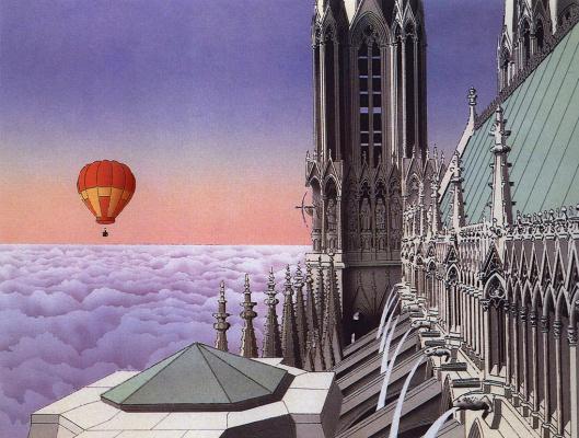 Гай Биллоут. Воздушный шар