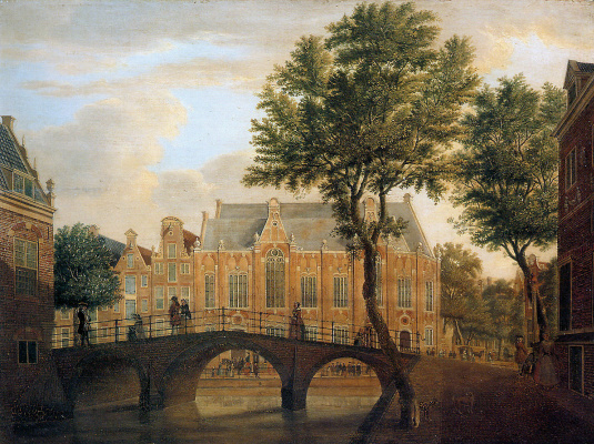 Ян де Беиджер. Мост через реку