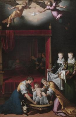 Хуан Пантоха де ла Крус. Рождение Богородицы