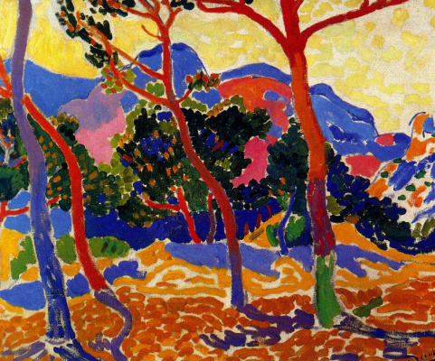 Andre Derain. The Trees