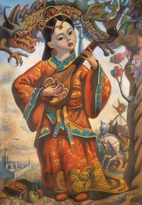 Daniil Litvinov. Аллегория Китая