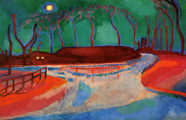 Jan Slayters. Moonlight